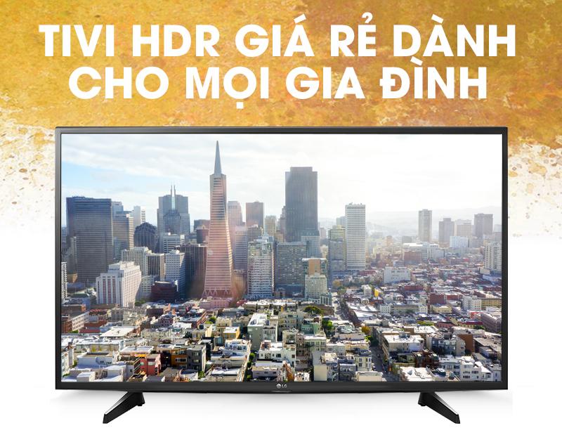 Smart Tivi LG 43 inch 43UH610T