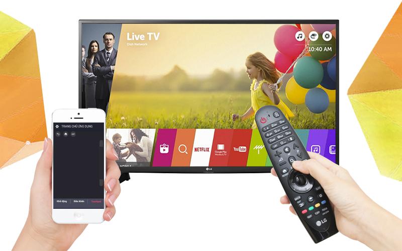 Smart Tivi LG 43 inch 43UH617T - Điều khiển tivi bằng điện thoại