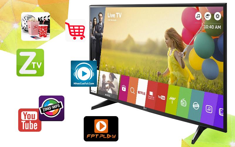 Smart Tivi LG 43 inch 43UH617T - Ứng dụng giải trí