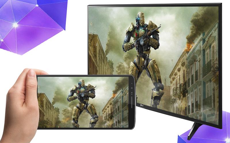 Smart Tivi LG 49 inch 49UH617T - Chiếu màn hình điện thoại lên tivi