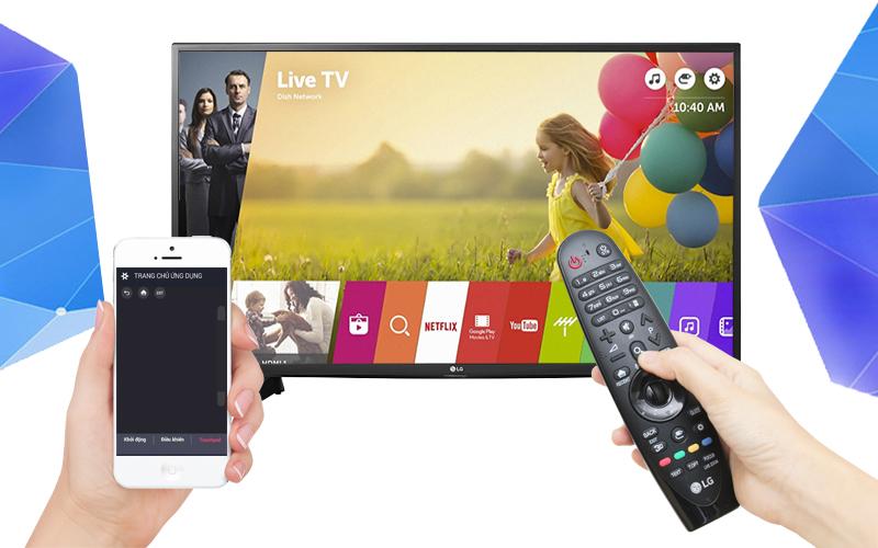 Smart Tivi LG 49 inch 49UH617T - Điều khiển tivi bằng điện thoại