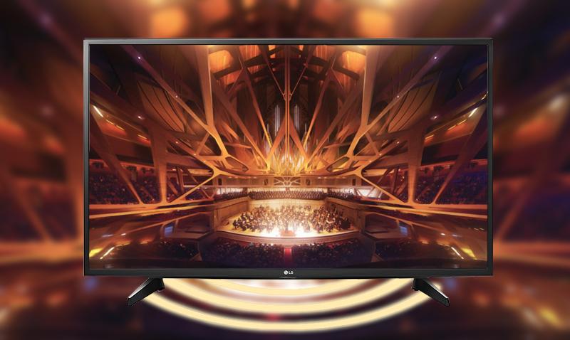 Smart Tivi LG 49 inch 49UH617T - Âm thanh bùng nổ