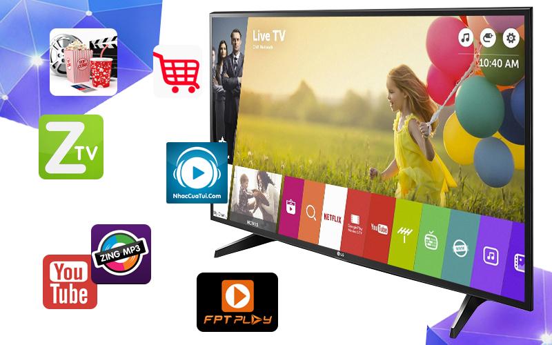 Smart Tivi LG 49 inch 49UH617T - Ứng dụng giải trí