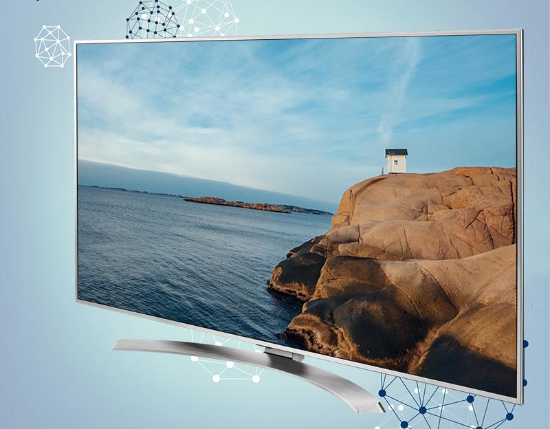 Smart Tivi LG 55 inch 55UH770T - Thiết kế sang trọng