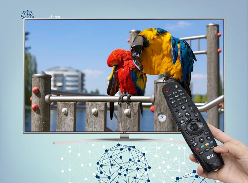Smart Tivi LG 55 inch 55UH770T - Tính năng phóng to hình ảnh