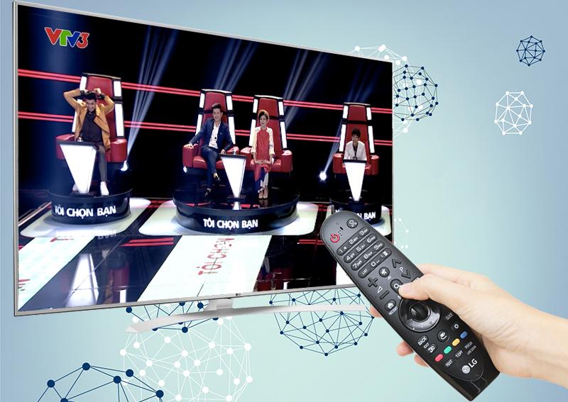 Smart Tivi LG 55 inch 55UH770T - Truyền hình KTS miễn phí