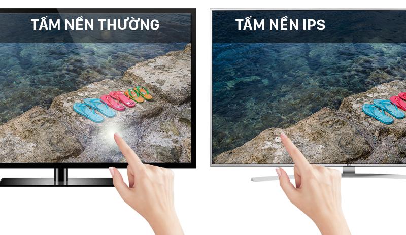 Smart Tivi LG 55 inch 55UH770T - Tấm nền IPS