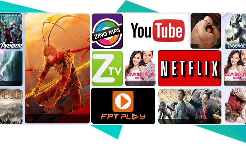 Smart Tivi Cong Samsung 49 inch UA49KU6500 - Ứng dụng