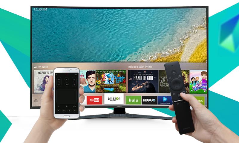Smart Tivi Cong Samsung 49 inch UA49KU6500 - Điều khiển tivi bằng điện thoại