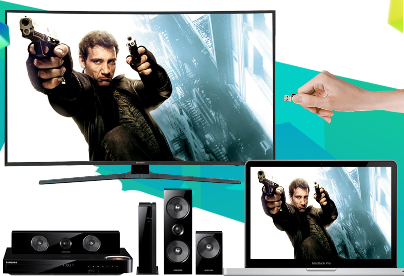 Smart Tivi Cong Samsung 49 inch UA49KU6500 - Kết nối