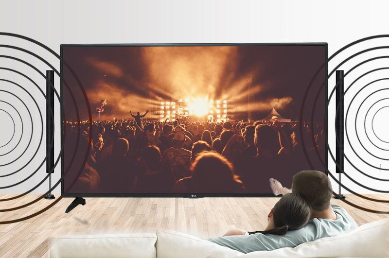 Smart Tivi LG 55 inch 55LH575T-Âm thanh sống động