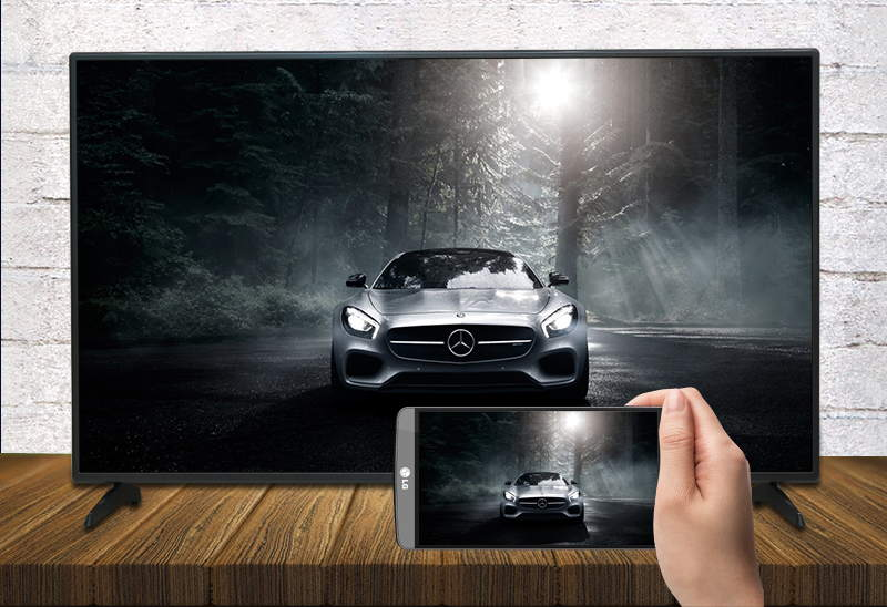 Smart Tivi LG 55 inch 55LH575T-Chiếu hình ảnh lên tivi