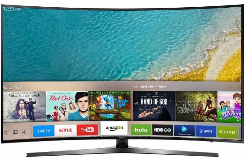 Smart Tivi Samsung 43 inch UA43KU6500 - Thiết kế đẳng cấp