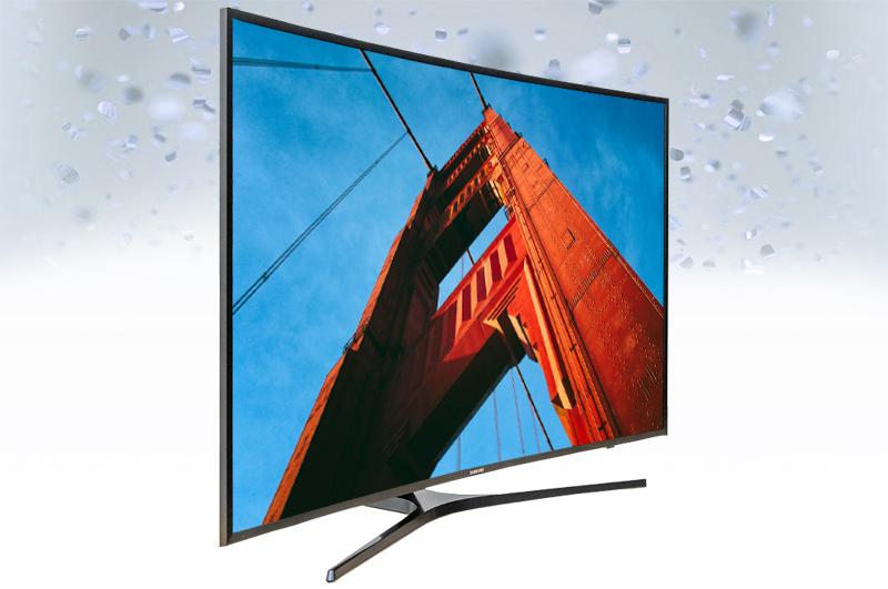 Smart Tivi Samsung 43 inch UA43KU6500 - Thiết kế uốn cong độc đáo