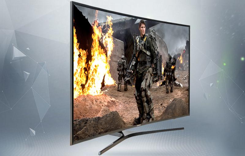 Smart Tivi Cong Samsung 55 inch UA55KU6500 - Tivi cong thiết kế ấn tượng