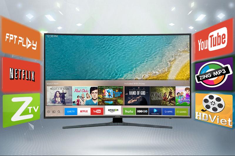 Smart Tivi Cong Samsung 55 inch UA55KU6500 - Ứng dụng