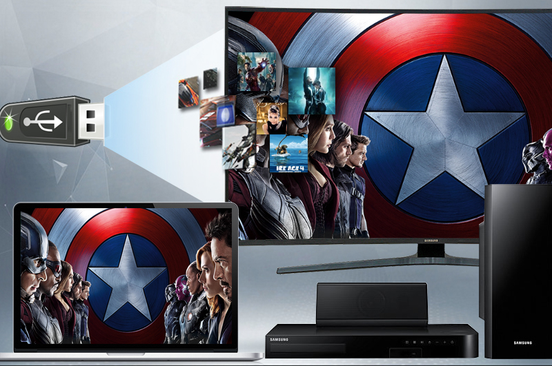 Smart Tivi Cong Samsung 55 inch UA55KU6500 - Kết nối
