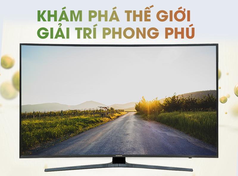 Smart Tivi Cong Samsung 65 inch UA65KU6500