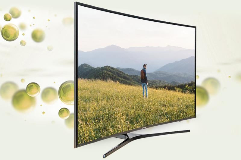 Smart Tivi Cong Samsung 65 inch UA65KU6500 - Thiết kế độc đáo