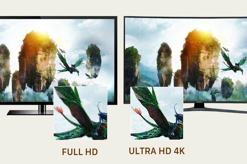 Smart Tivi Cong Samsung 65 inch UA65KU6500 - Tivi 4K