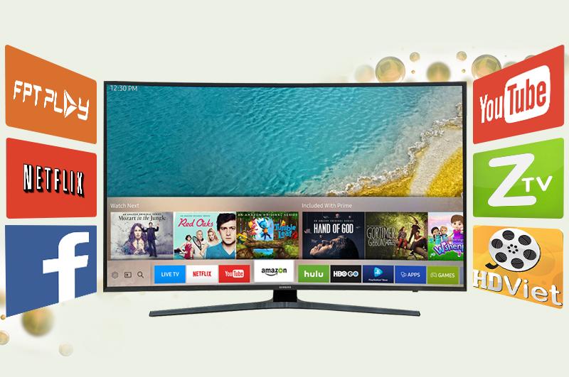 Smart Tivi Cong Samsung 65 inch UA65KU6500 - Ứng dụng