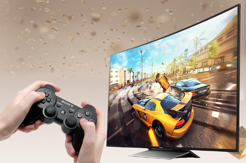 Android Tivi Cong Sony 55 inch KD-55S8500D - Kết nối tay cầm chơi game