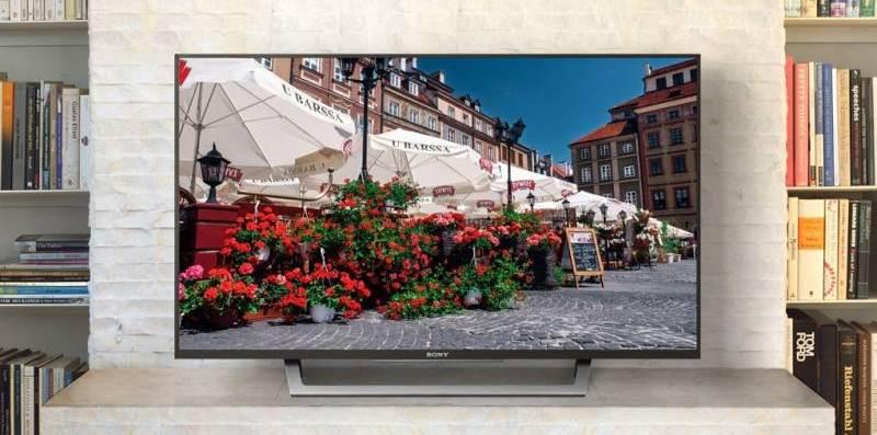 Internet Tivi Sony 43 inch KDL-43W750D- Thiết kế thanh mảnh, đẹp mắt