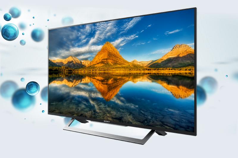 Internet Tivi Sony 43 inch KDL-43W750D - Thiết kế mỏng ấn tượng