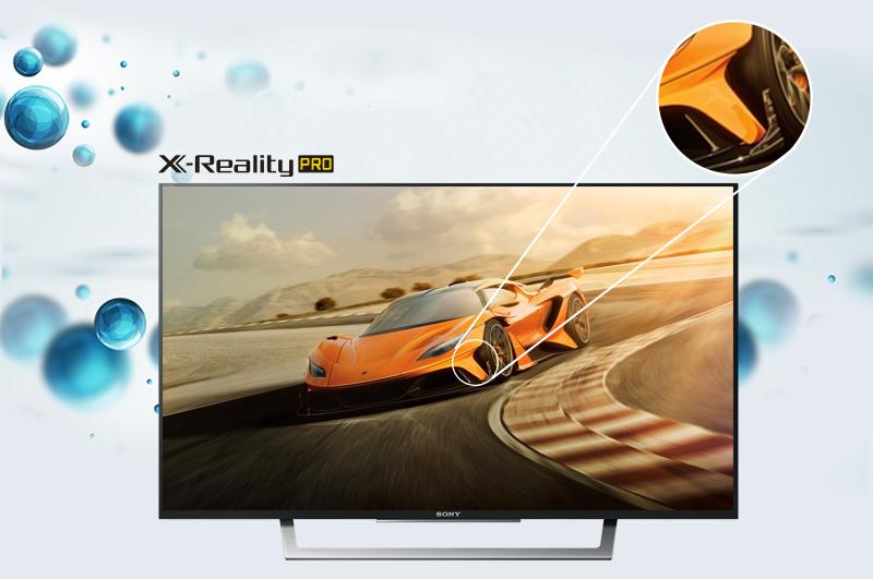 Internet Tivi Sony 43 inch KDL-43W750D - Hình ảnh sắc nét