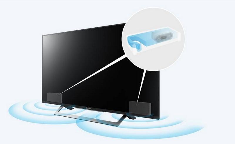 Internet Tivi Sony 43 inch KDL-43W750D- Âm thanh mạnh mẽ, sâu lắng với loa Bass Reflex
