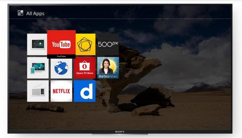 Internet Tivi Sony 43 inch KDL-43W750D- Giao diện Sony Entertainment Network đơn giản, đẹp mắt