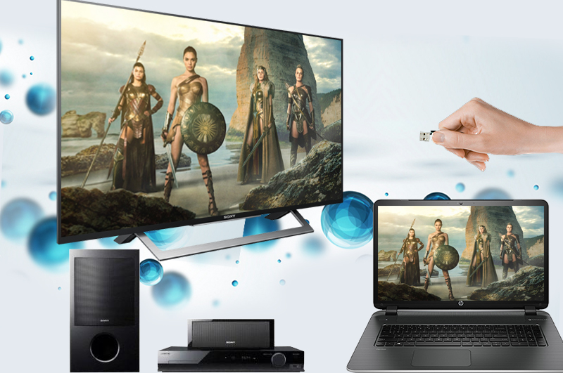 Internet Tivi Sony 43 inch KDL-43W750D - Các tính năng kết nối