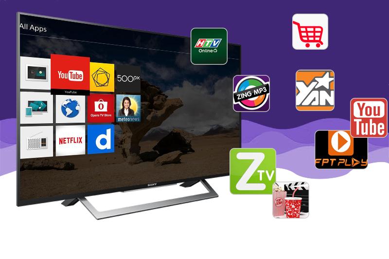 Internet Tivi Sony 49 inch KDL-49W750D - Ứng dụng