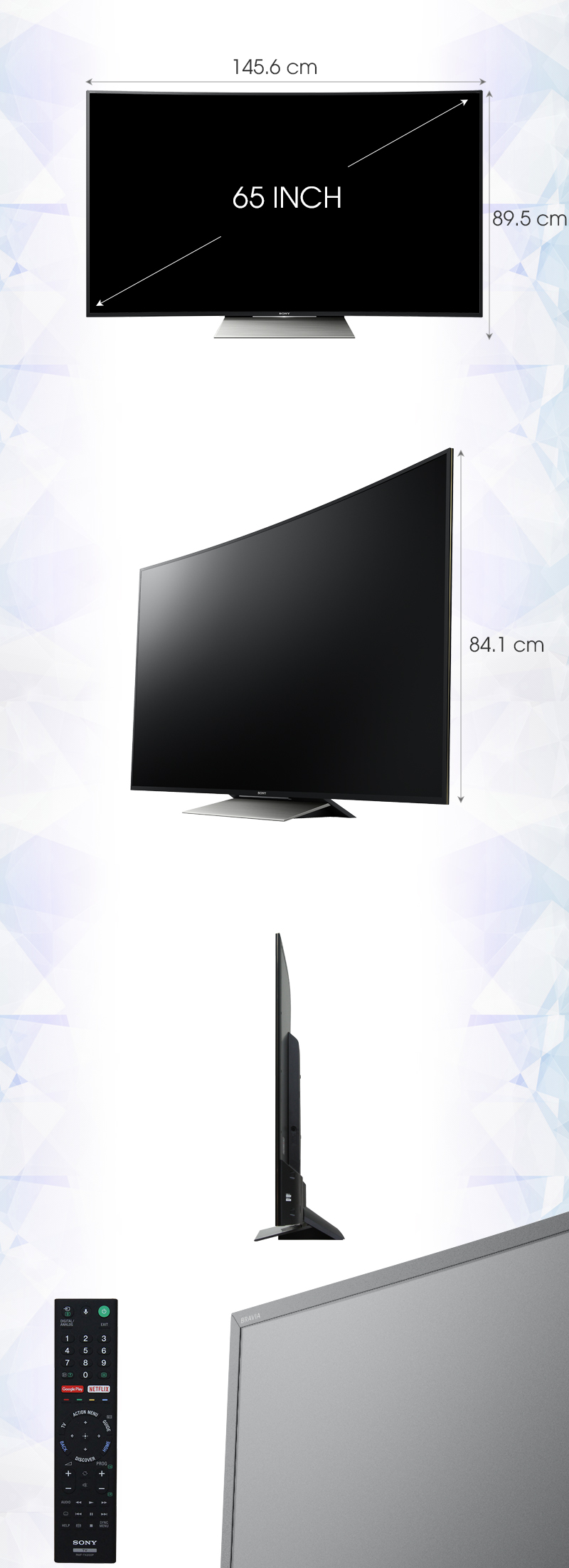 Android Tivi Cong Sony 65 inch KD-65S8500D