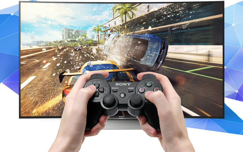 Android Tivi Cong Sony 65 inch KD-65S8500D - Kết nối tay cầm chơi game