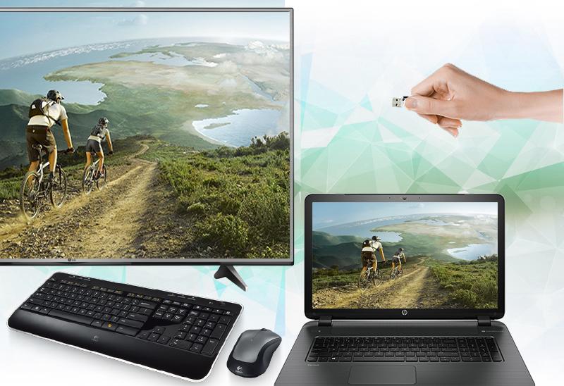 Smart Tivi LG 49 inch 49UH600T - Cổng kết nối