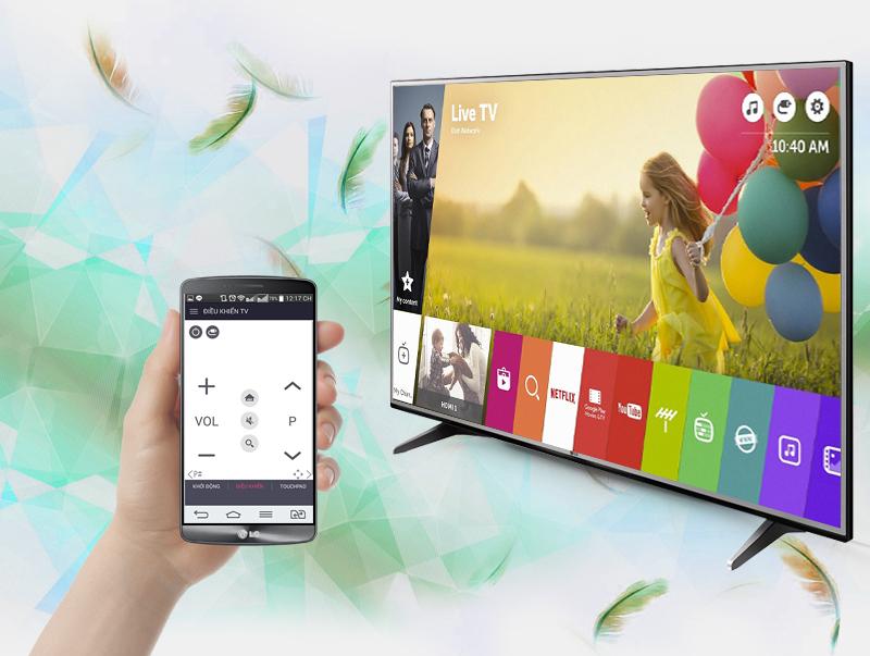 Smart Tivi LG 49 inch 49UH600T - Điều khiển tivi bằng điện thoại