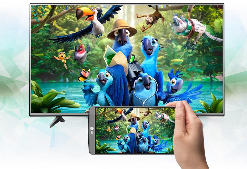 Smart Tivi LG 49 inch 49UH600T - Chiếu màn hình