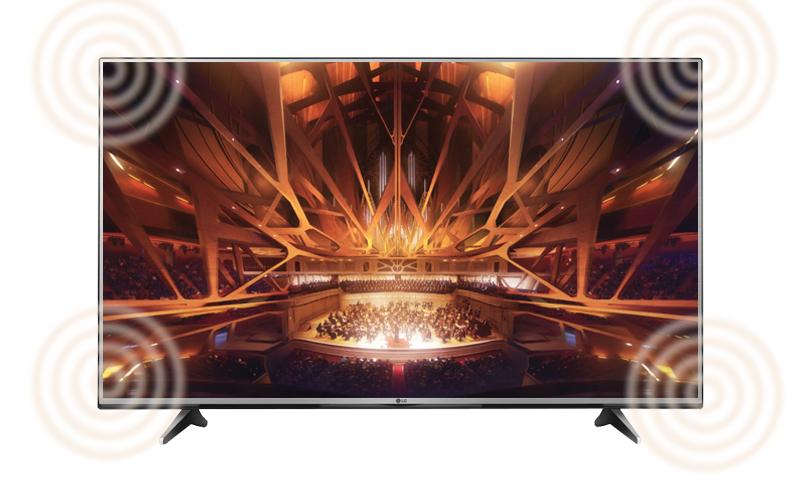 Smart Tivi LG 49 inch 49UH600T - Âm thanh vòm đa kênh
