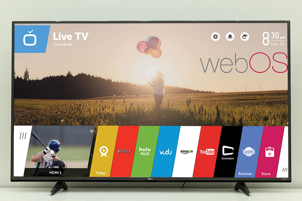 Smart Tivi LG 65 inch 65UH600T - Kho ứng dụng phong phú