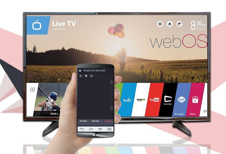 Smart Tivi LG 49 inch 49LH590T-Điều khiển tivi bằng điện thoại