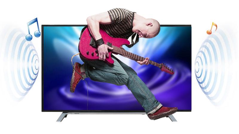 Tivi Toshiba 49 inch 49L3650 - Âm thanh vòm kỹ thuật số