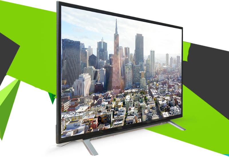 Tivi Toshiba 43 inch 43L3650 - Thiết kế vững chãi
