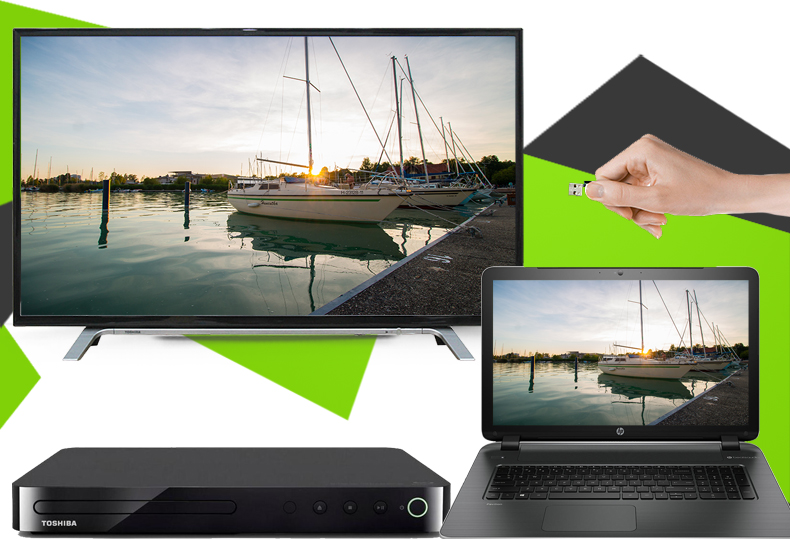 Tivi Toshiba 43 inch 43L3650 - Kết nối