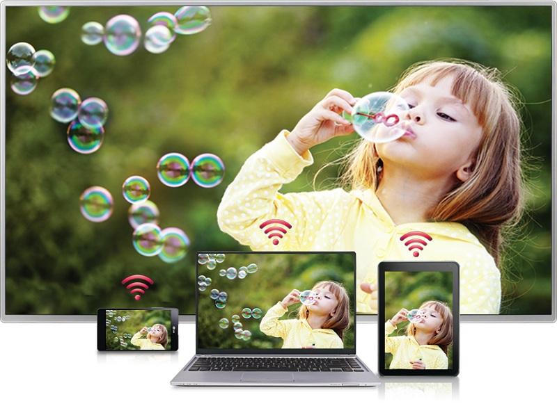 Smart Tivi 86 inch LG 86UH955T-  Chiếu màn hình điện thoại lên tivi