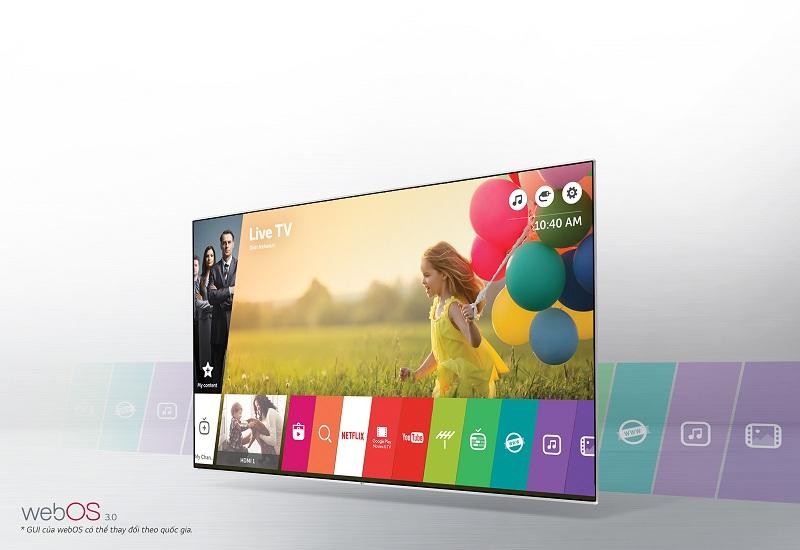 Smart Tivi LG 43 inch 43LH605T - Nhiều ứng dụng giải trí hấp dẫn