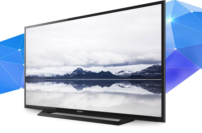 Tivi Sony 32 inch KDL-32R300D - Thiết kế hiện đại