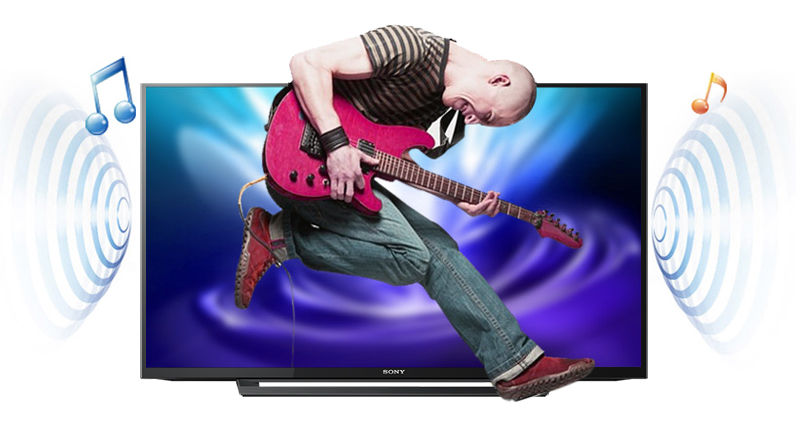 Tivi Sony 32 inch KDL-32R300D - Âm thanh bùng nổ