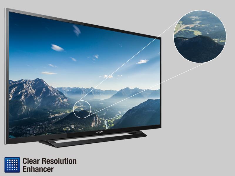 Tivi Sony 32 inch KDL-32R300D - Hình ảnh sắc nét