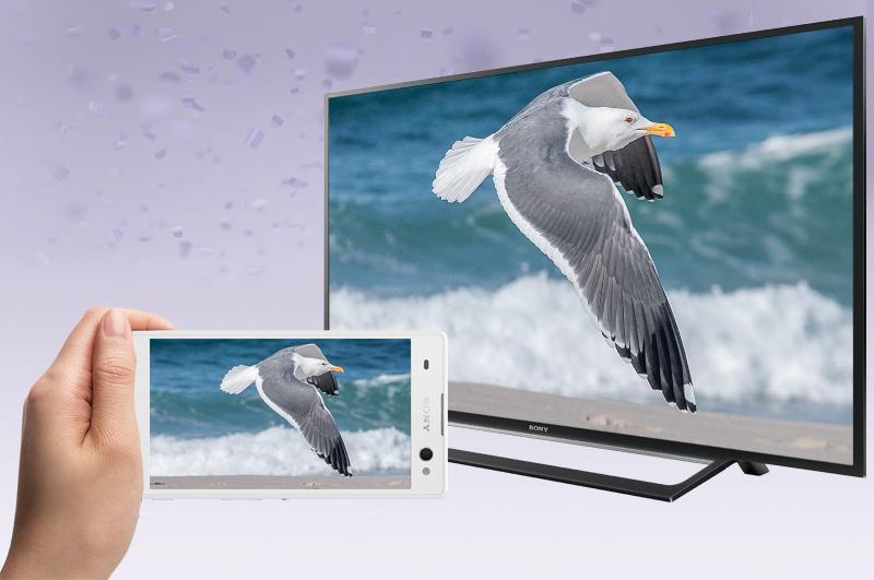 Internet Tivi Sony 55 inch KDL-55W650D - Kết nối không dây